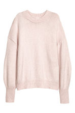 Knit Sweater - Powder pink - Ladies | H&M CA